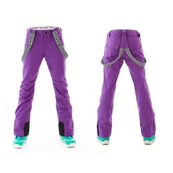 Women's ski pants snowboard trousers winter women's outdoor windproof waterproof warm pants snow pants snowboard pants