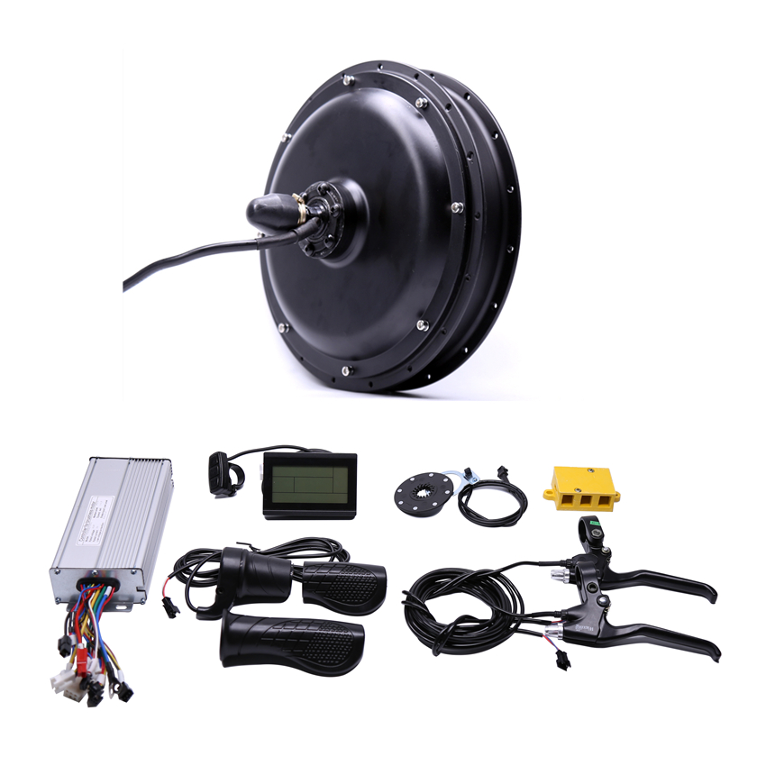 11.11 2020 Free shipping 48V 1000W rear high speed Motor Electric Bicycle eBike Conversion Kits motor wheel