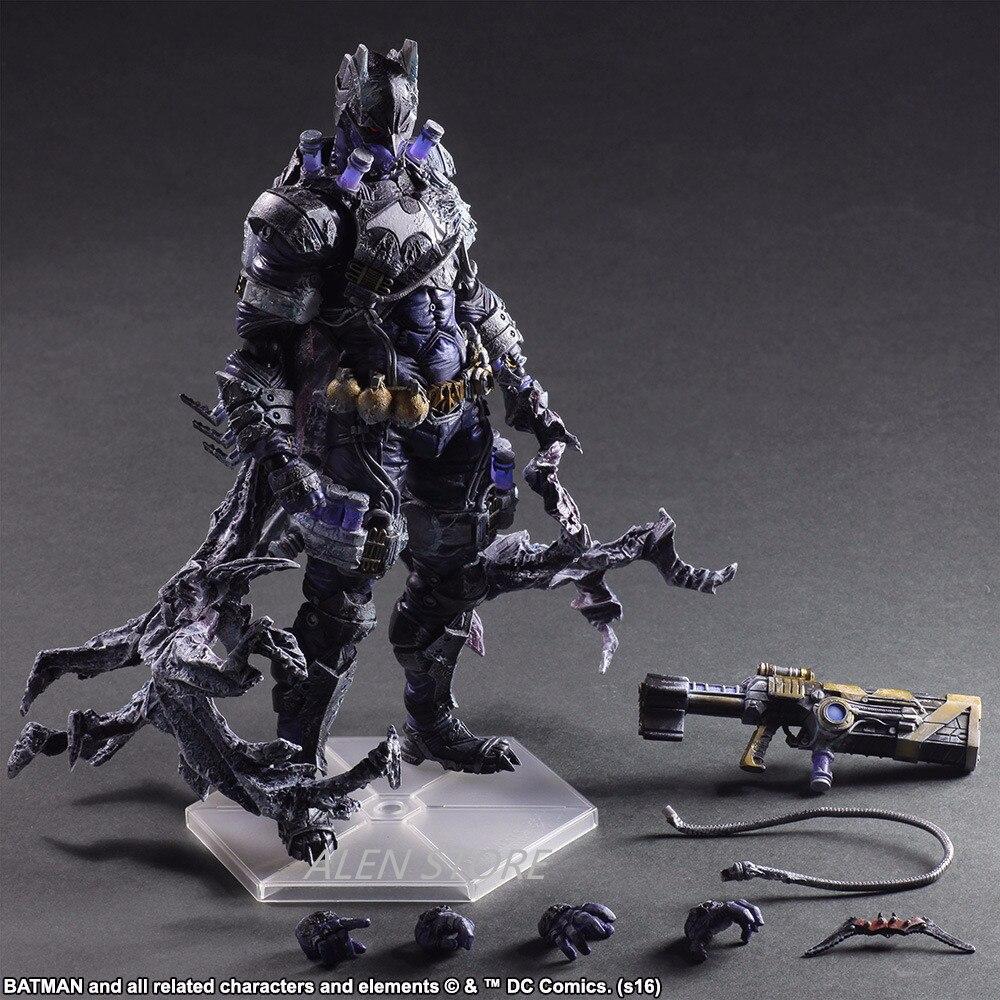 ALEN Play Arts 27 cm Rogues galerie Victor frites monsieur gel personnage méchants dans Batman figurine jouets