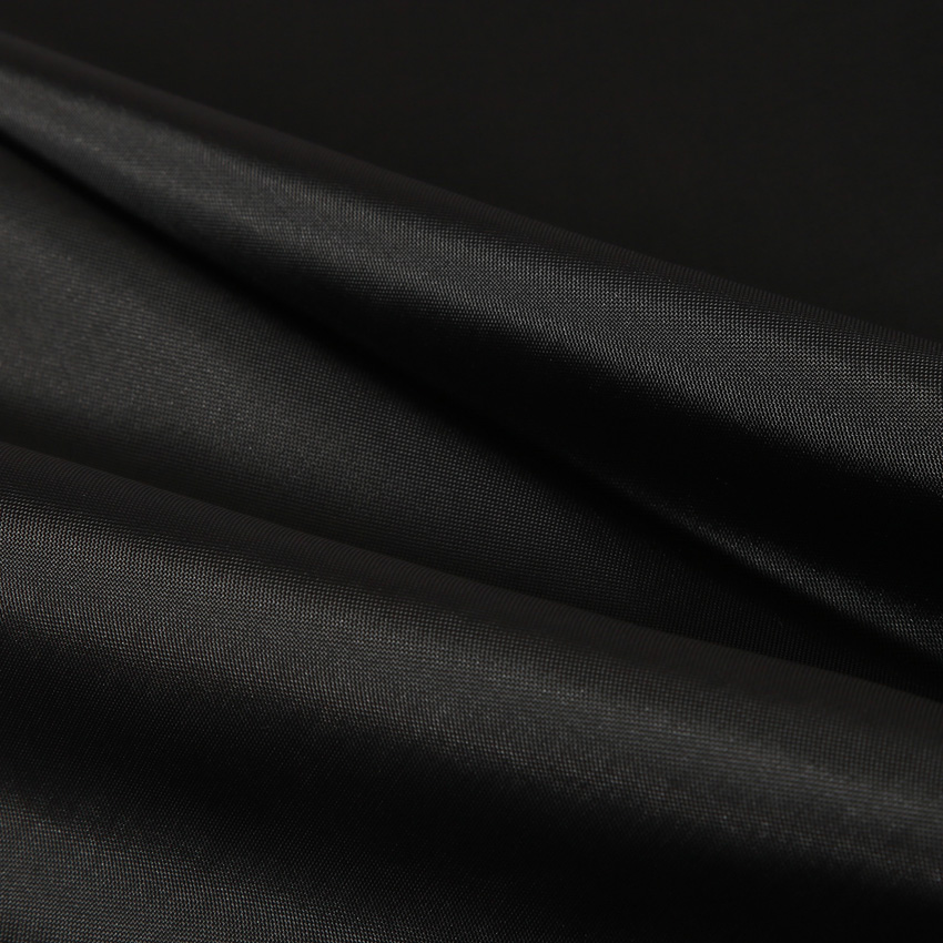 Modern Black Shower Curtains Waterproof Fabric Solid Color Bath Curtains For Bathroom Bathtub Large Wide Bathing