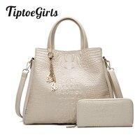 Индивидуальность крокодиловый узор сумки для девочек женские 2019 новые сумки на плечо для женщин модные простые сумки через плечо