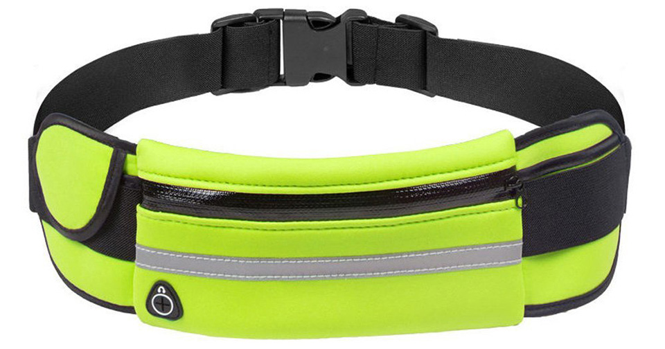 New Outdoor Running Waist Bag Waterproof Mobile Phone Holder Jogging Belt Belly Bag Women Gym Fitness Bag Lady Sport Accessories 24