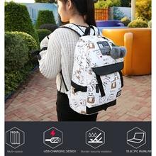 2019 New Emoji Travel Women Backpack Pompom Shoulder Bag Teenage Girls Best Travel Laptop Work Backpacks