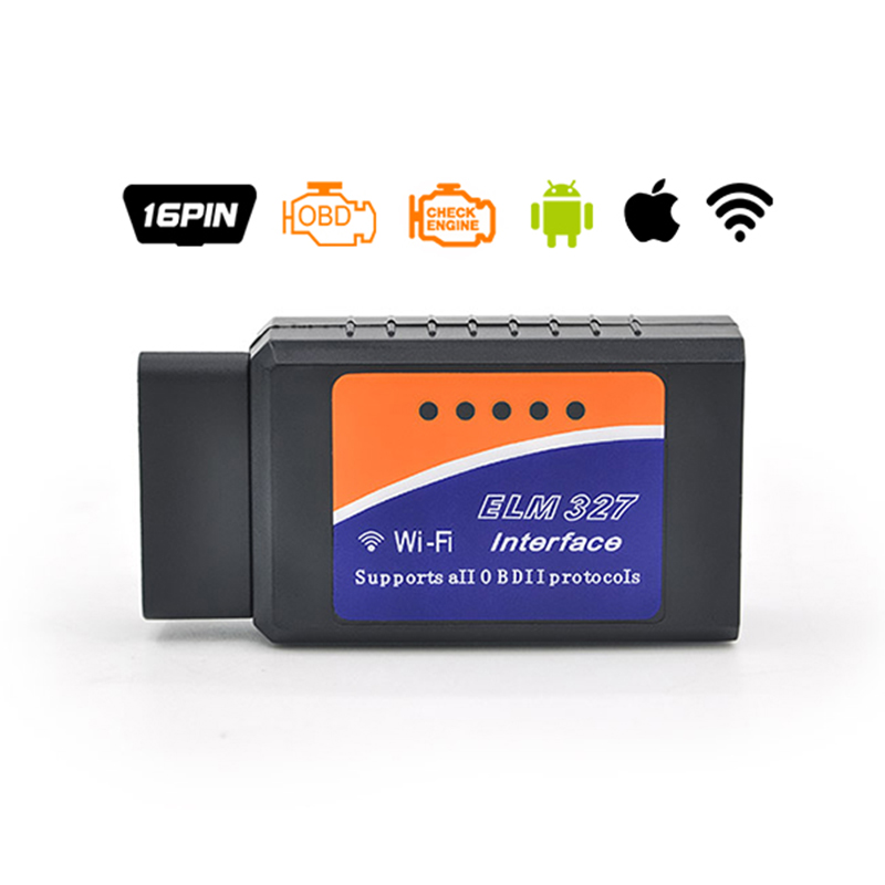 Pic18f25k80 ELM327 V1.5 Wi-Fi Bluetooth Obd2 OBD 2 1.5 диагностики авто код сканер как EasyDiag диагностики авто сканер ELM 327 - Цвет: wifi