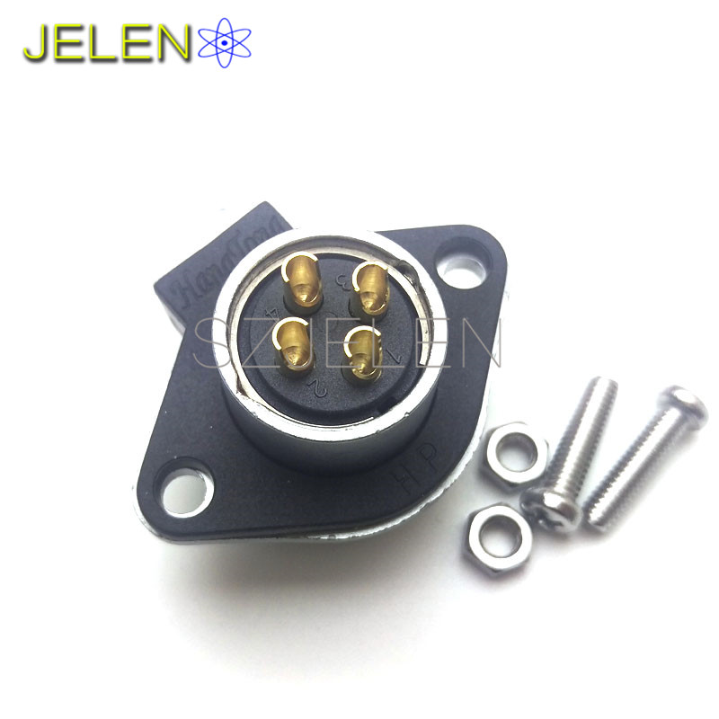HE20, 4 pin industrial power connector, automotive connector 4 pins ...