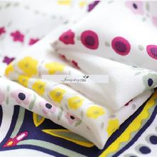 silk stretch 100% silk white digital printing can do small f
