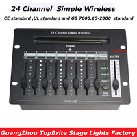 Big Discount High Quality 1Pcs Lot 24 Channel Simple DMX Console DMX512 Controller For Stage DJ