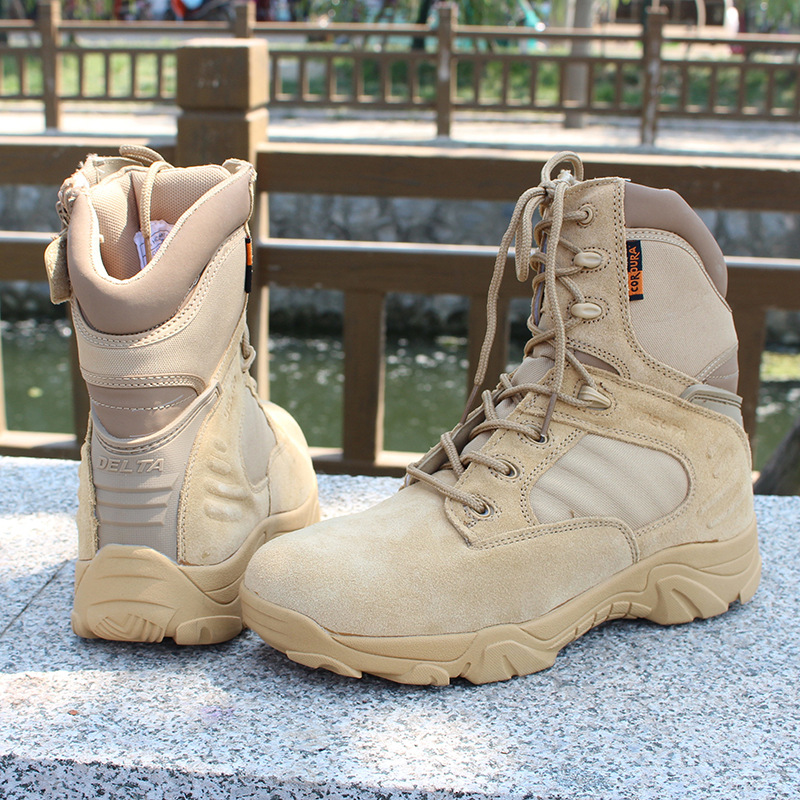 Muškarci Delta visoke vrh vojne borbene čizme Visoka kvaliteta - Muške cipele - Foto 2
