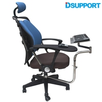 D Поддержка OK 010 multifunctoinal стул зажима клавиатура Поддержка владелец ноутбука Мышь площадку для compfortable офиса и игры
