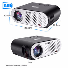 AUN Projector 1280*768 (Optional Android Projector Built-in WIFI Bluetooth) 3200 Lumens LED Projector Free HDMI Cable T90 Series