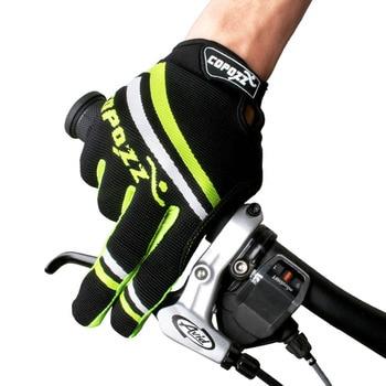Copozz Dedo Completa Ciclismo Luvas Anti-slip Luvas Sensível Ao Toque À Prova de Choque Da Bicicleta Luvas Ciclismo MTB Bicicleta Do Esporte das Luvas