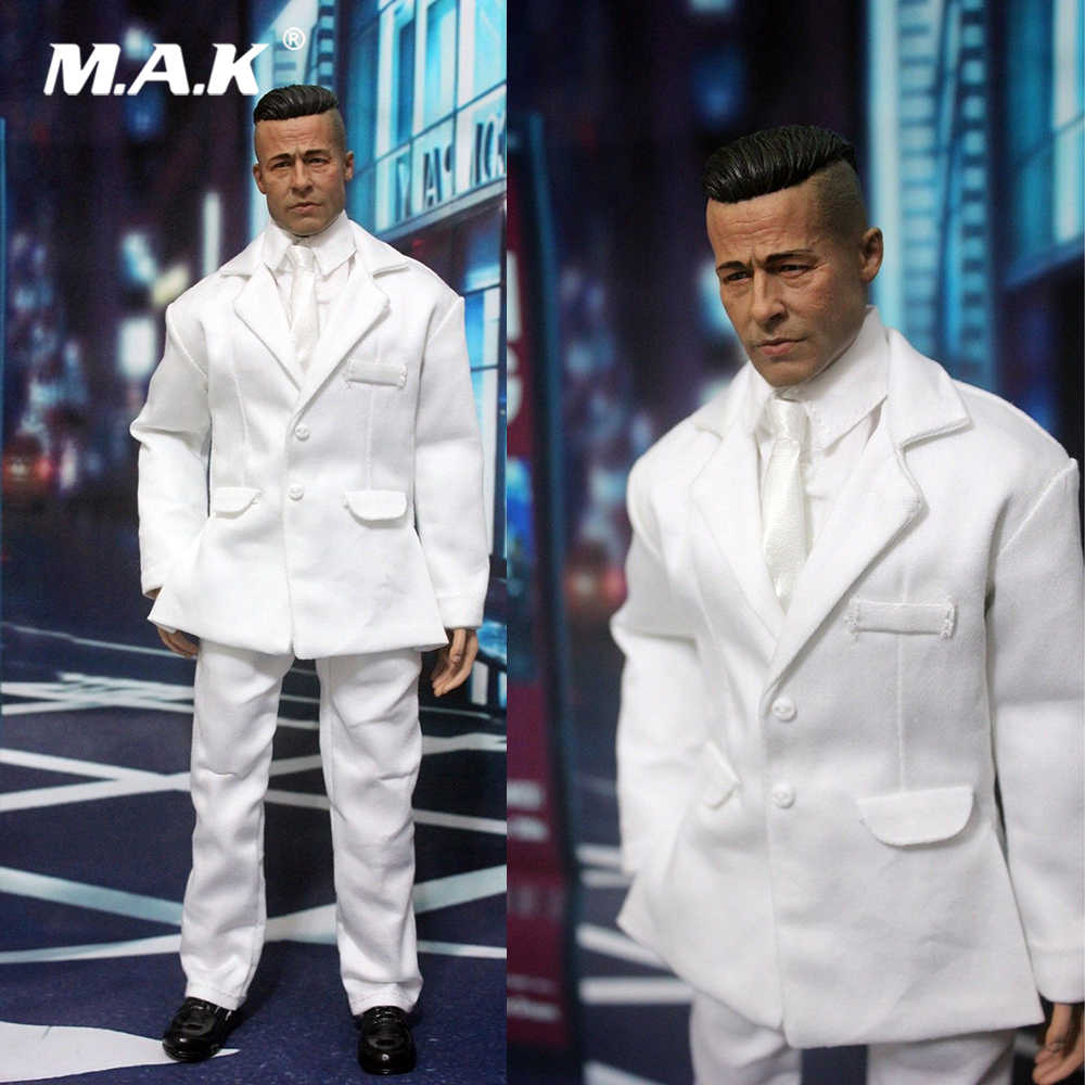 1//6 Scale Male Body Clothes 5pc Business Suit fit Phicen Figure Doll Accessories