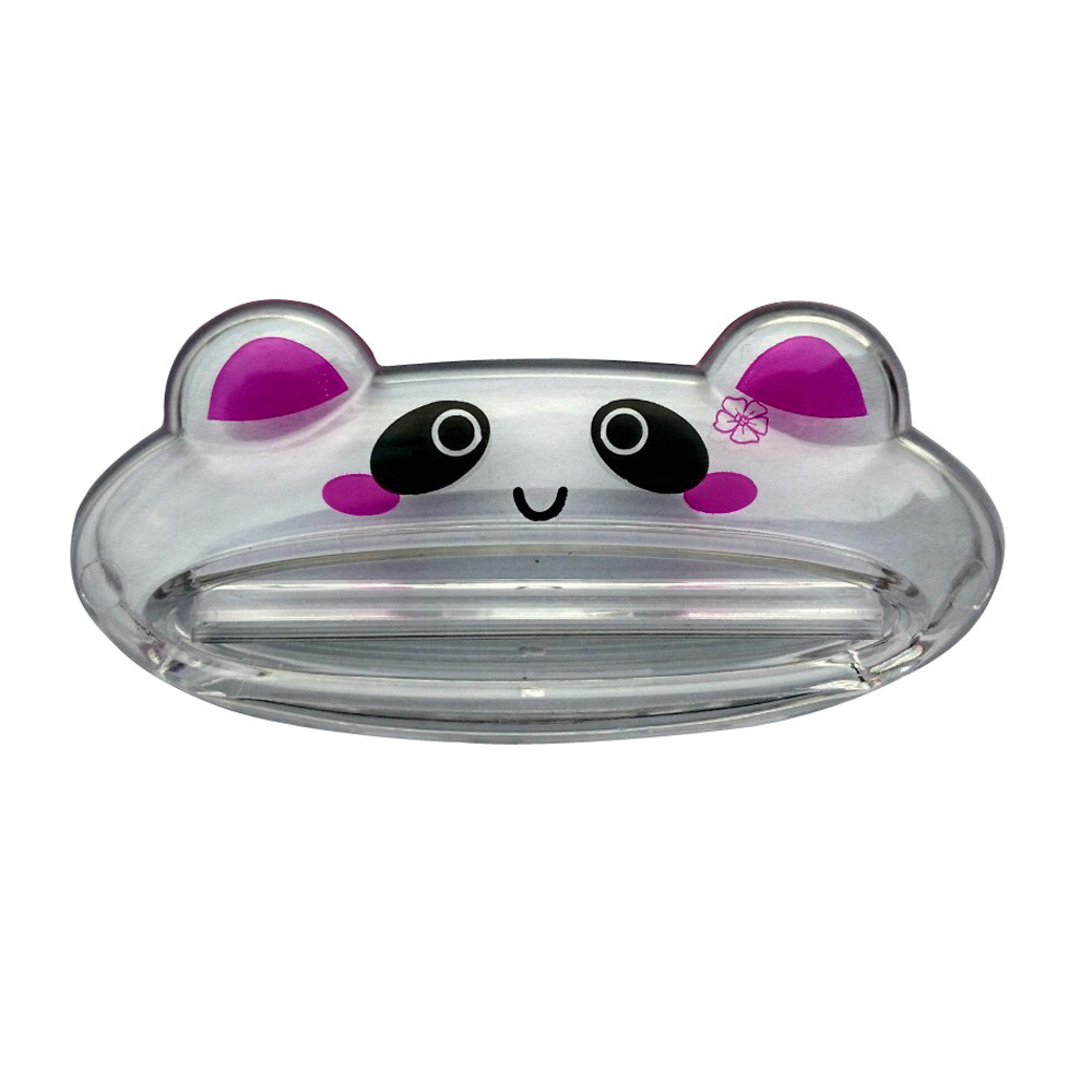 2018 New Fashion Cute Bathroom Home Tube Rolling Holder Squeezer Easy Cartoon Toothpaste DispenserToothbrush Holders Hot Sale#35