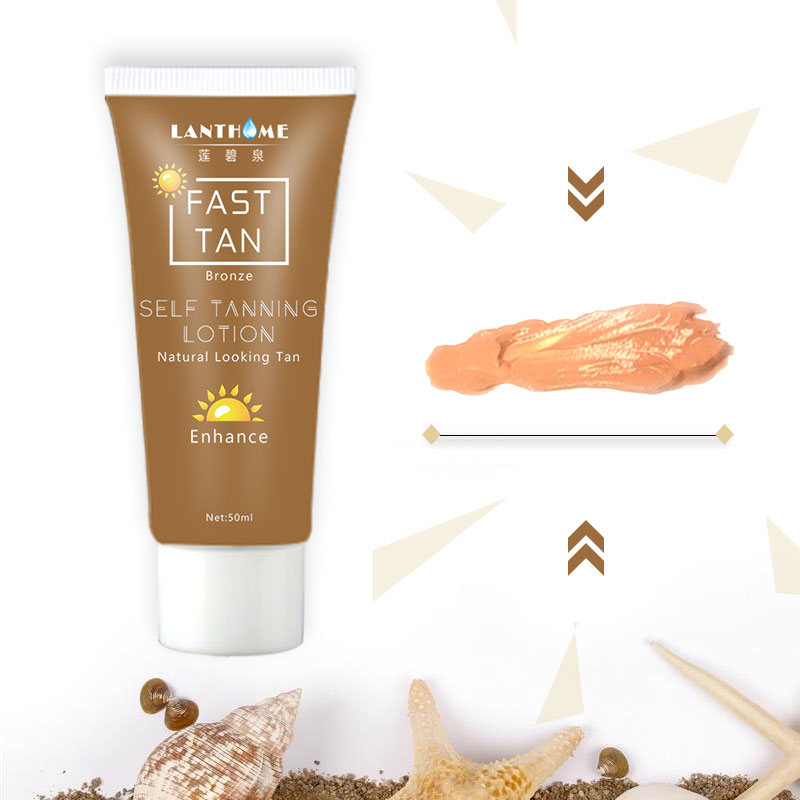 2 hours Bronze Self Sun Tanning Enhance Lotion Day tanning cream in body natural lotion Suntan Cream skin Natural darken