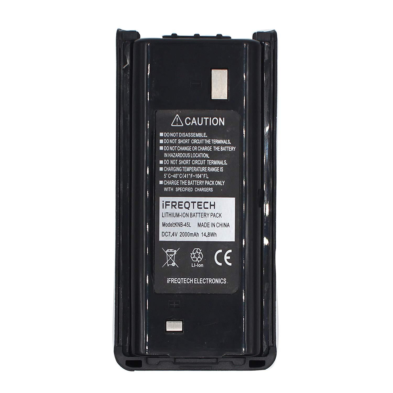 KNB-45L KNB-69L 2000mAh Li-ion Battery For KENWOOD TK-2206 TK-3206 TK-3301 TK-3401D TK-3302 TK-2312/3312 TK-D240/D340 NX-240/340
