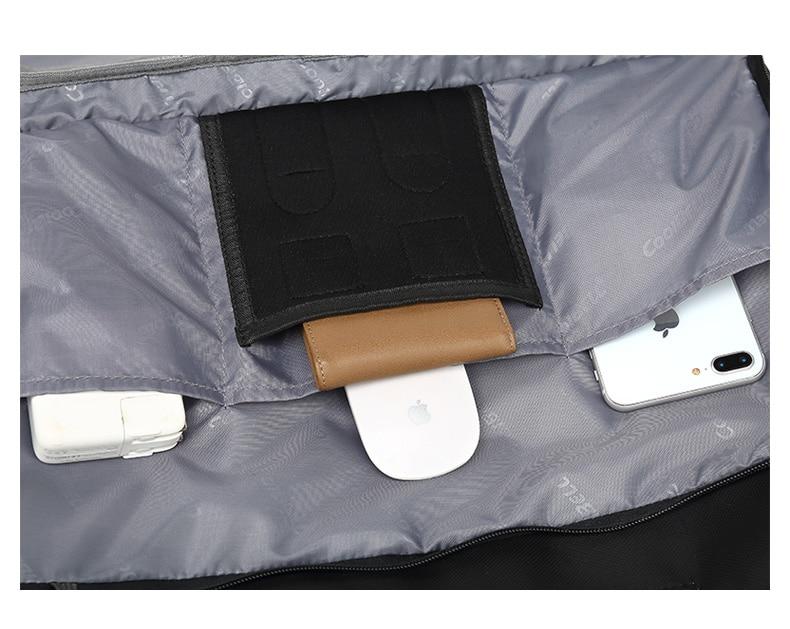 17.3 Vintage Briefcases Men Office Laptop Work Bag Man Convertible Business Multifunction Computer Handbag Travel Tote Bag XA229