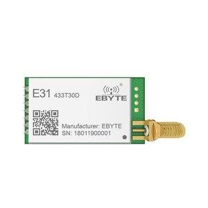 Image 2 - E31 433T30D AX5043 433 МГц 1 Вт дальняя узкая полоса UART антенна SMA IoT uhf беспроводной приемопередатчик приемник модуль
