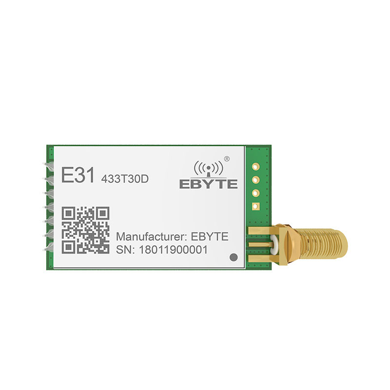 Image 2 - E31 433T30D AX5043 433mhz 1W Long Distance Narrow Band UART SMA Antenna IoT uhf Wireless Transceiver Transmitter Receiver Module-in Fixed Wireless Terminals from Cellphones & Telecommunications