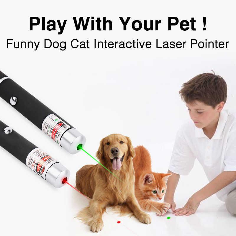 IMice מצביע לייזר ירוק אדום לייזר עט 5mW 532nm עוצמה מקצועי לייזר מצביעים מגיש לחתולים הוראה