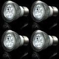 (4pcs/Lot) E27 E14 3W LED Spot Light dimmable LED Bulb SpotLight AC85-265V Cold White / Warm White Energy Saving Lighting