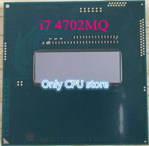 Procesor intel I7 4702MQ SR15J 2.2-3.2G Haswell czterordzeniowy osiem wątków oficjalna wersja notebooka HM86 obsługuje procesor HM87