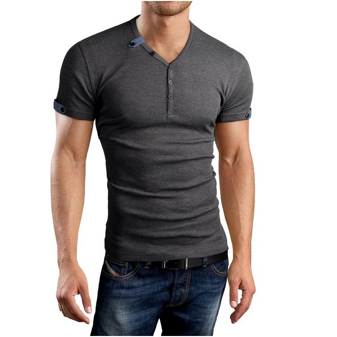 Free shipping and returns on Men's Short Sleeve Henley T-Shirts at mundo-halflife.tk