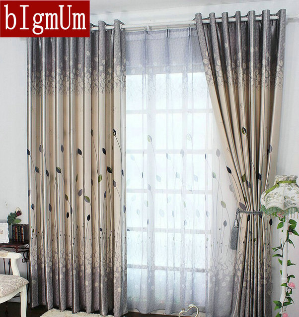 Aliexpresscom Buy Rustic Window Curtains For living Room