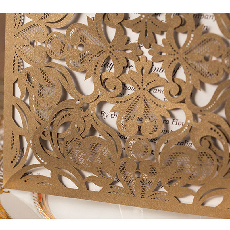 Laced Envelope Cards