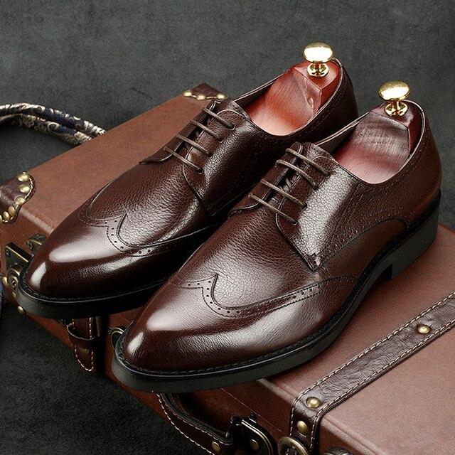 Chaussures à bout rond Fashion homme pD3Um6s