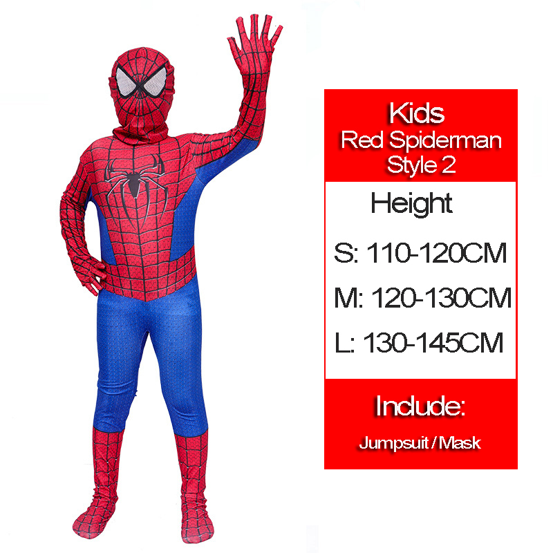 21 Red Spiderman style 2