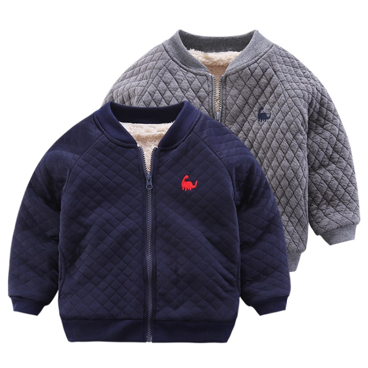 baby winter new fashion thicken solid clothing boys Outerwear children clothes autumn Jackets kids Coats