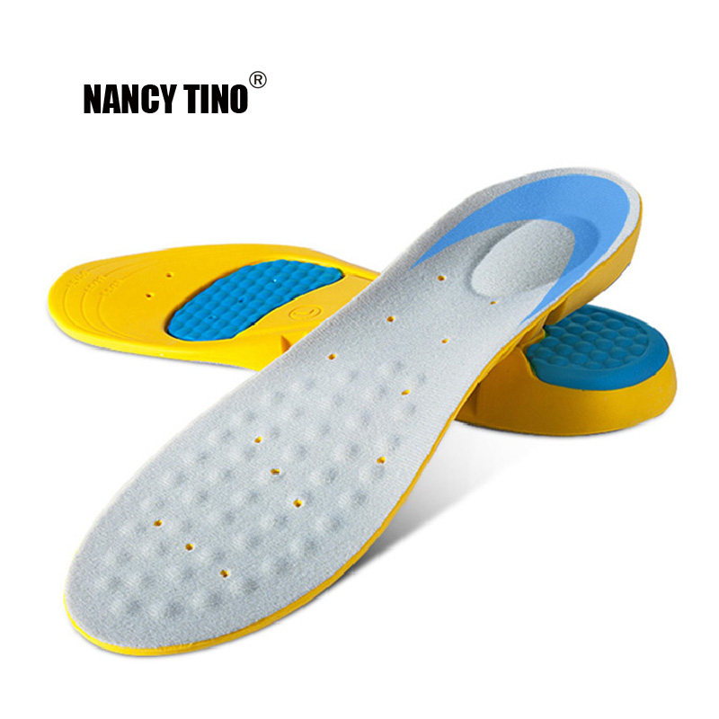 NANCY TINO Unisex Orthotic Insoles Memory Foam Arch Pain Relief Running Massage Pain Support Sports Shoes Insoles Insert Pads
