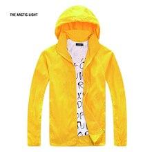 Outdoor Men Speed Drying UV Wind Climbing Jackets Summer Ultrathin Skin Coat Dust Camping Windbreaker Free Shipping