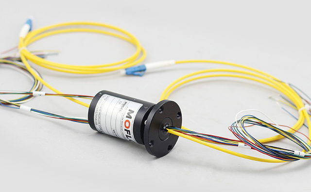 MOFLON slipring fiber optic rotary joint 1 channel FORJ mixed with electric wires slip ring MFO108_640x640 moflon slipring fiber optic rotary joint 1 channel forj mixed with