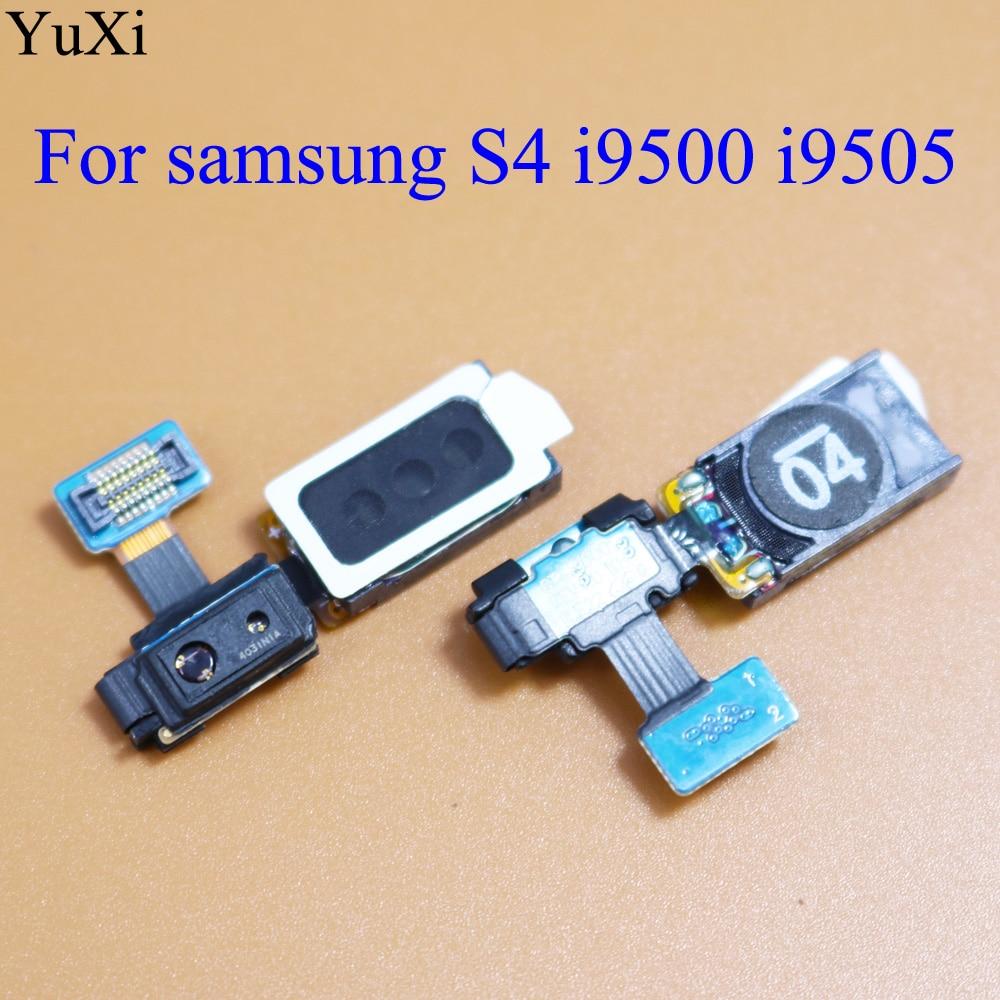 YuXi Earpiece Ear Speaker Sound Receiver Flex Cable Repair For Samsung Galaxy S4 GT-I9500 I9505 I337 M919 I545 L720 R970