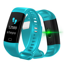 LIGE Smart bracelet Fitness Tracker Step Counter Activity Monitor Alarm Clock Vibration Heart rate monitor Smart Band watch+Box(China)