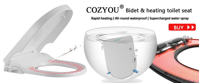 Magnificent Cozyou Bidet Heating Toilet Seat U Type Slow Close Pp Gmtry Best Dining Table And Chair Ideas Images Gmtryco