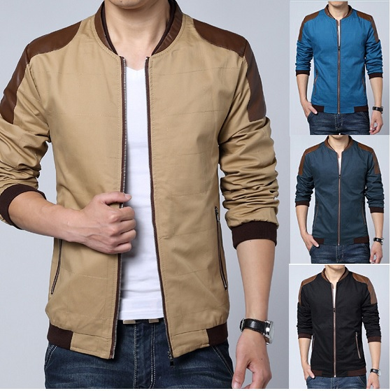 Aliexpress.com : Buy 2015 Spring Fashion Patchwork Leather Jackets