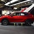 Auto Styling 4PCS ABS Matte Außen Seitliche Molding Streifen Dekoration Abdeckung Trim Für Mitsubishi Eclipse Kreuz 2018 2019