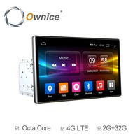 Ownice K2 2Din 10.1 inch HD android octa 8 core 2 Din Universal car radio stereo DVD Player GPS Navigation TPMS 4G Carplay