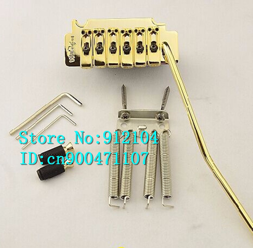 free shipping new  electric guitar double bridge in gold  WVS50K    L24 free shipping hot 5150 double wave electric guitar in the lottery maple