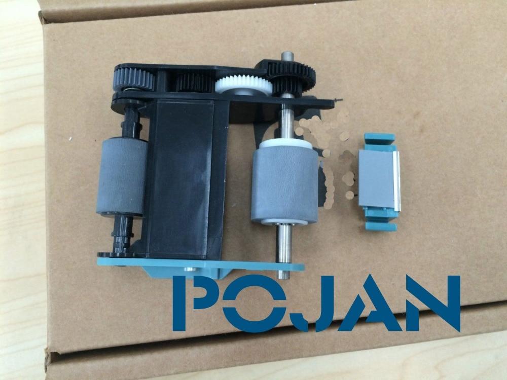 ADF Roller Replacement Kit for Scanjet 8400 Scanjet 8460 Scanjet 8420 L1969B#101 pickup roller pad share new adf pickup roller kit for