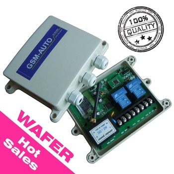 WAFER Brand GSM remote control switch timer clock inside design AC110 to 240V power input