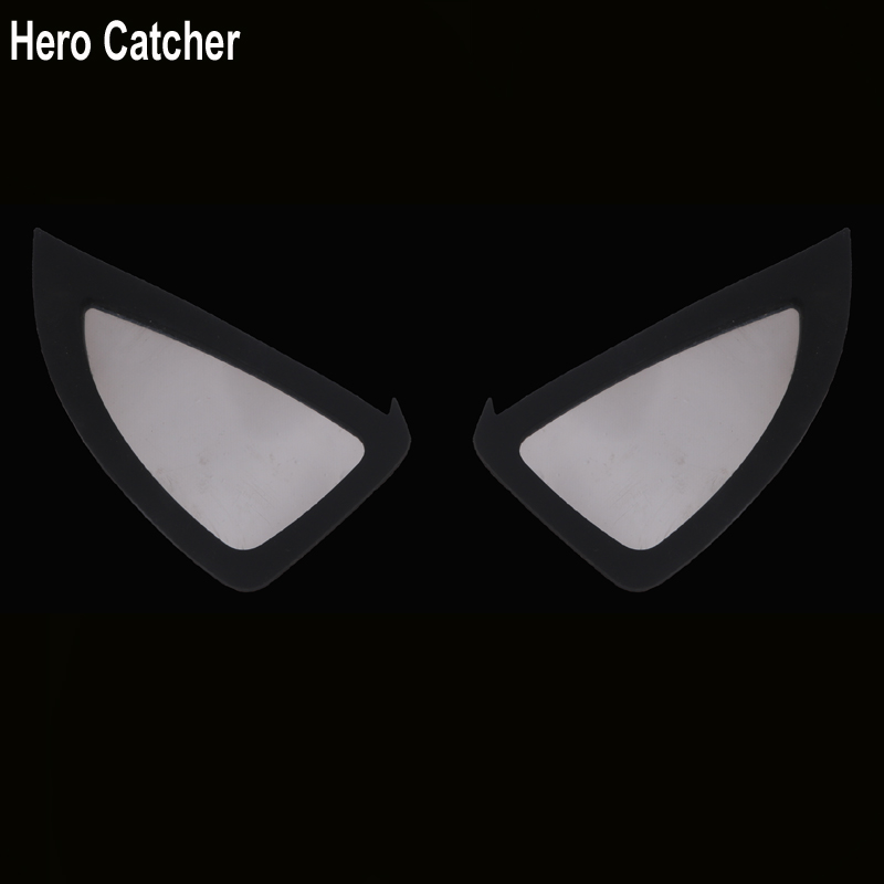 Hero Catcher Top Quality Soft Spiderman Lens Rubber Spiderman Eyes Unbreakable Spiderman Lenses