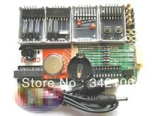 Free Shipping!!!   5pcs 1-inch large-screen electronic display clock diy clock kit produced four PCK-4