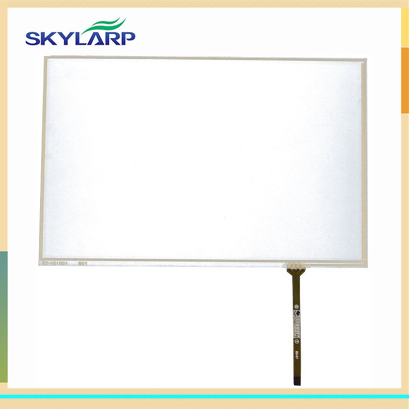 skylarpu 2pcs New 10.1 Inch 4 Wire Resistive Touch Panel 228*149mm USB for B101EVN07.0 Screen touch panel Glass new original 10 4 inch 4 wire touch screen glass n010 0554 t351