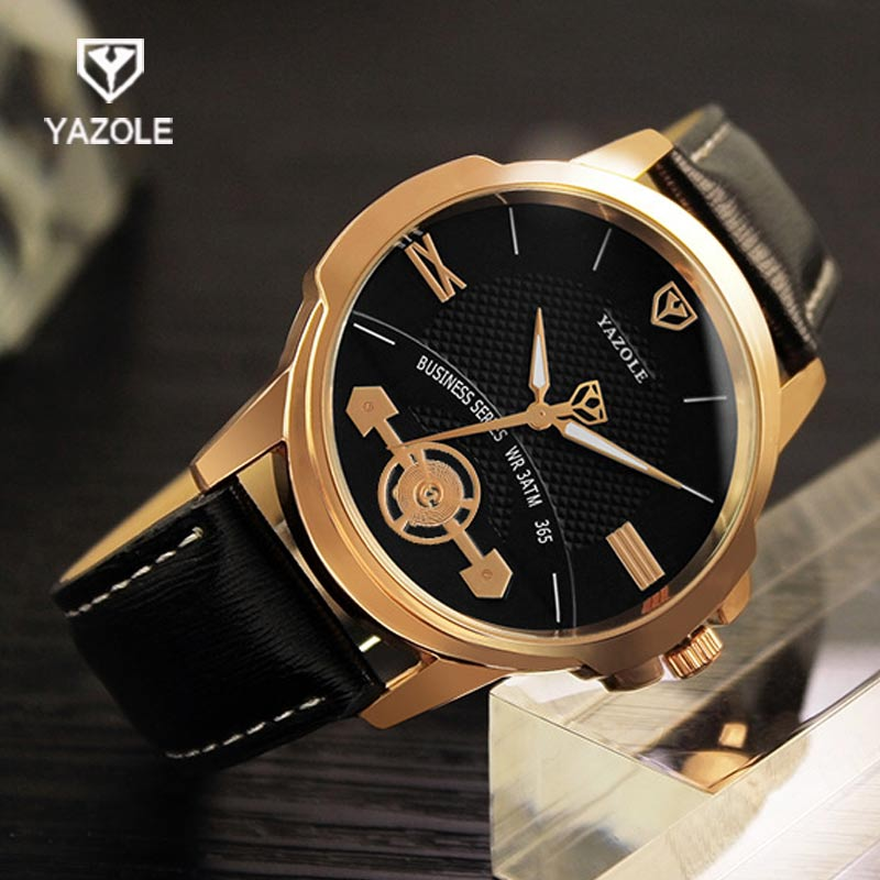 YAZOLE Casual Men Watch Top Brand Luxury Famous Male Clock Wrist Watches Quartz Watch Hodinky Relogio