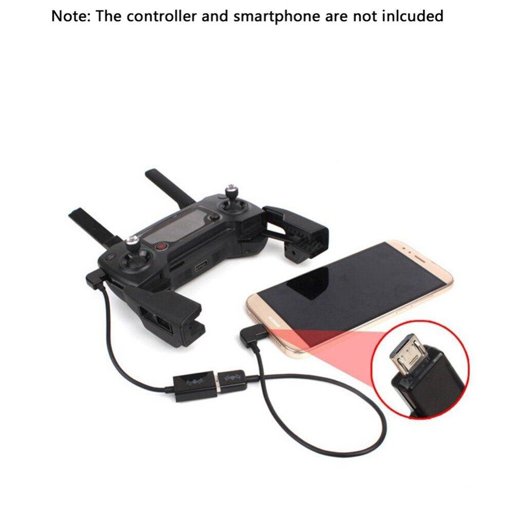 Шнур type c спарк недорого защита подвеса белая для дрона mavic combo