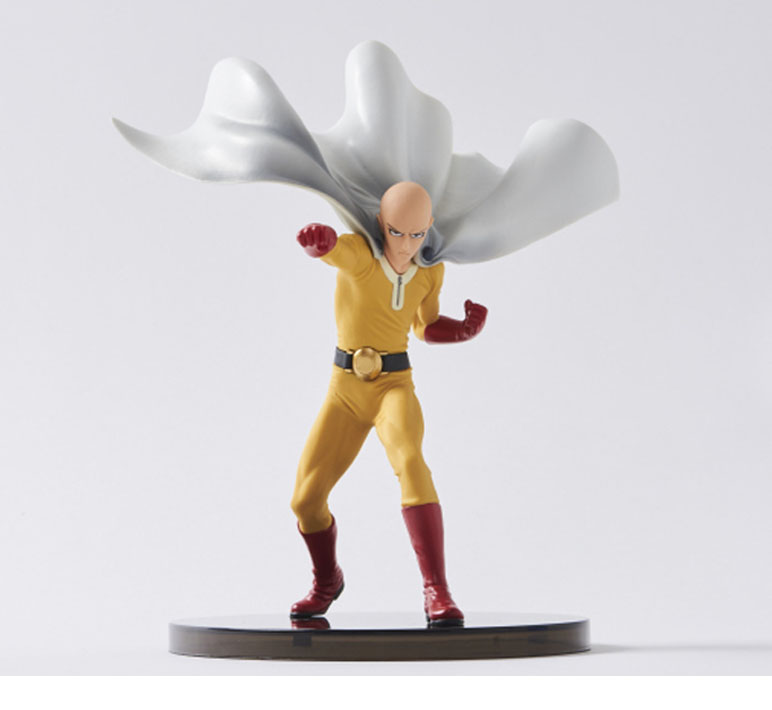 15CM Japanese anime figure ONE PUNCH MAN action figure collectible model toys for boys 10cm japanese anim figure naruto q version nendoroid hatake kakashi action figure collectible model toys for boys