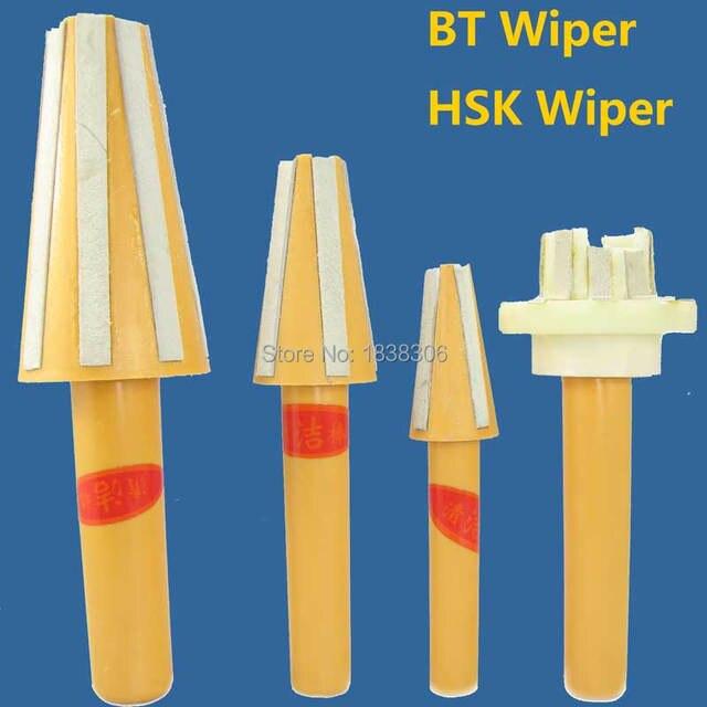 1pcs BT Spindle Taper Wiper BT40 BT30 HSK40 HSK63 Cleaner BT40 Tool Holder Cleaner BT40 Collet Chuck Tool Parts for CNC Tools